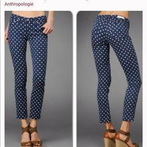 AG brand Stevie Ankle jeans