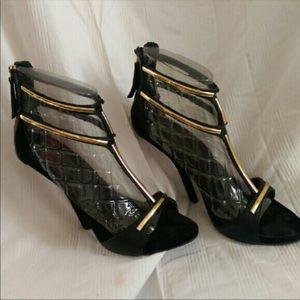 Giuseppe Zanotti Black Heels, Size 39