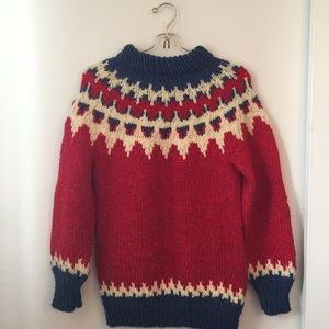 70's Classic Chunky Sweater