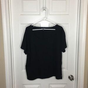 Victoria's Secret black T-shirt