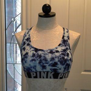 NWOT Victoria's Secret PINK Tye Dye Sports Bra