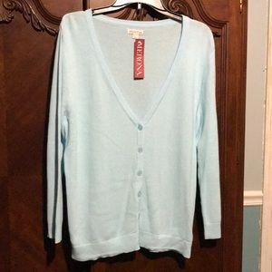 NWT Merona Women's XL Button Down Sweater