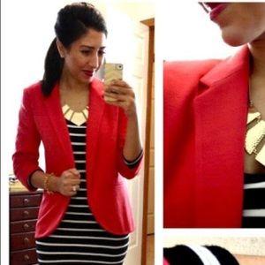 NWT LC Lauren Conrad Hot Tamale Blazer Jacket
