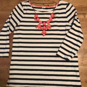 Striped nautical tunic
