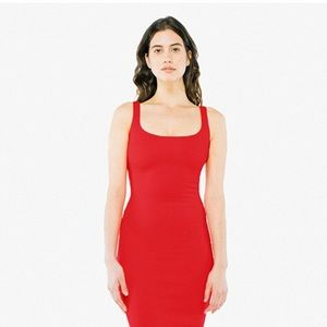 Red bodycon backless mini dress