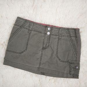 Mossimo Supply Co. Cargo Mini Skirt