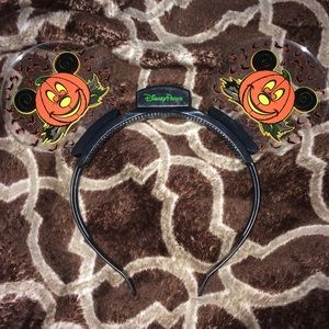 Disney Pumpkin Light up Mickey Ears