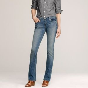 J. Crew Matchstick Jean In Lived In Wash
