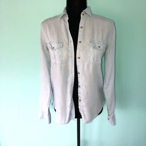 American Eagle Chambray Shirt