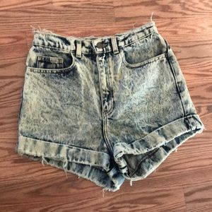 American Appearel High waisted shorts