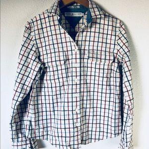 Vintage 90s Tommy Hilfiger Jeans Flannel size M