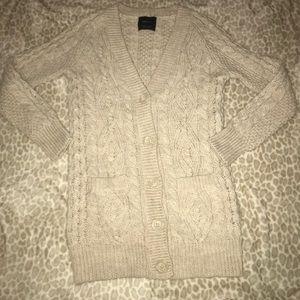 NEW ZARA knit cardigan