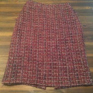 J. Crew No. 2 Tweed Pencil Skirt