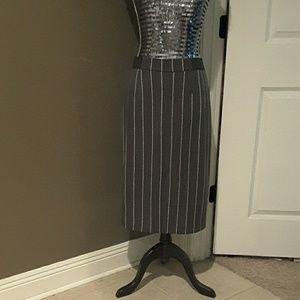 Classic Striped Skirt