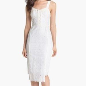 White Rebecca Minkoff Thea dress size 2