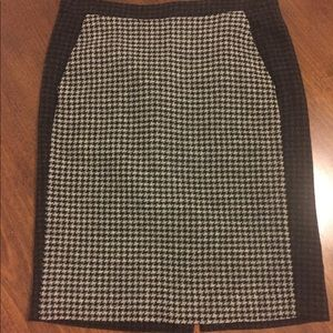 J Crew Mercantile Wool Pencil Skirt, size 2