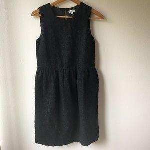 Steven Alan Black Boucle Dominga Dress