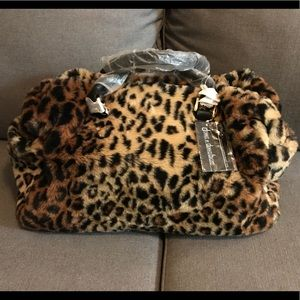Dennis Bassi Faux Fur Luggage Piece