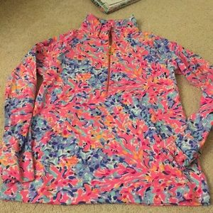 Lilly Pulitzer coco coral crab pullover