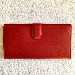 Bally Bags - Bally Laynella Red Wallet