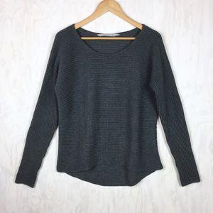 Athleta Huntly sweater scoop neck wool blend M