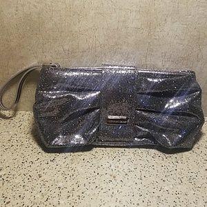 Victorias Secret Glitter Makeup Bag/Clutch