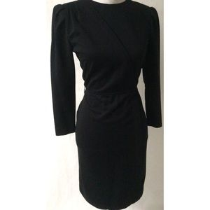 Black Vintage Dress Size Petite Medium