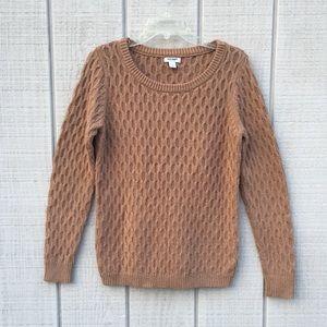Old Navy caramel tan sweater, M