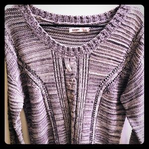 🐋 Adorable Knit Sweater Old Navy Size Large