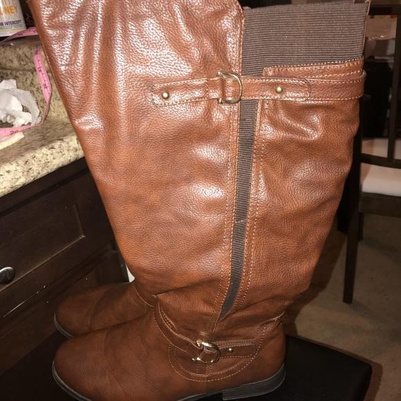 db68f1e10eb Avenue Shoes - Wide Width  Wide Calf Riding Boots