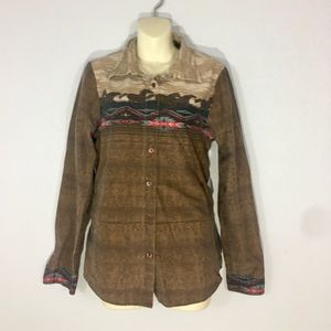 1980s western button up