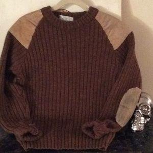 Vintage Orvis Wool Fly Fishing Sweater