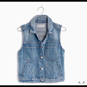 Madewell denim vest | New/never worn