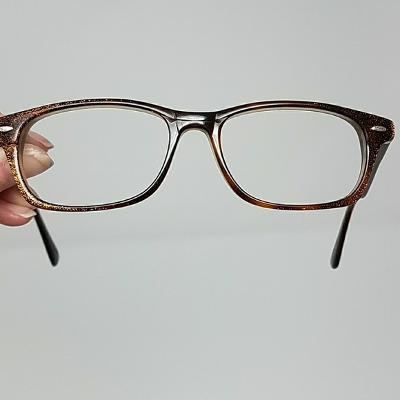 chelsea morgan Accessories | Brown Sparkle Frames Ks28 | Poshmark