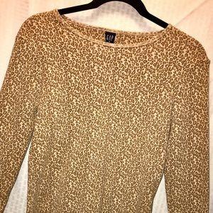 Leopard print GAP shirt