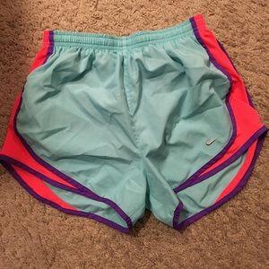 Bright running shorts