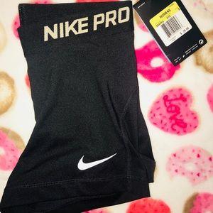NEW, NEVER WORN Nike Pro shorts.