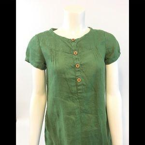 Gap linen dress size 2