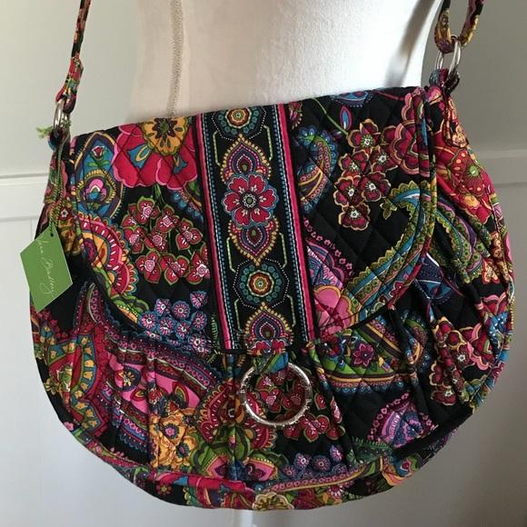 33093bf733c9 Vera Bradley Saddle Up Bag New With Tags