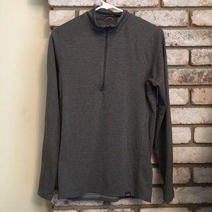 Men's Lightweight Patagonia Half Zip Grey Jacket
