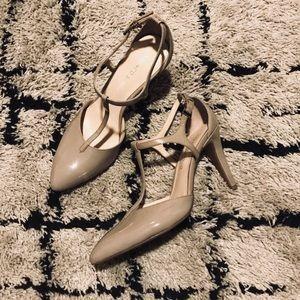 ✨ Franco Sarto Nude Heels ✨