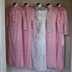 Dresses & Skirts - Pink Ao Dais