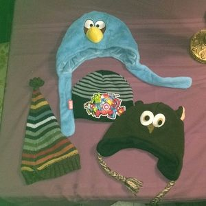 Other - Set of 4 boys hats M/L