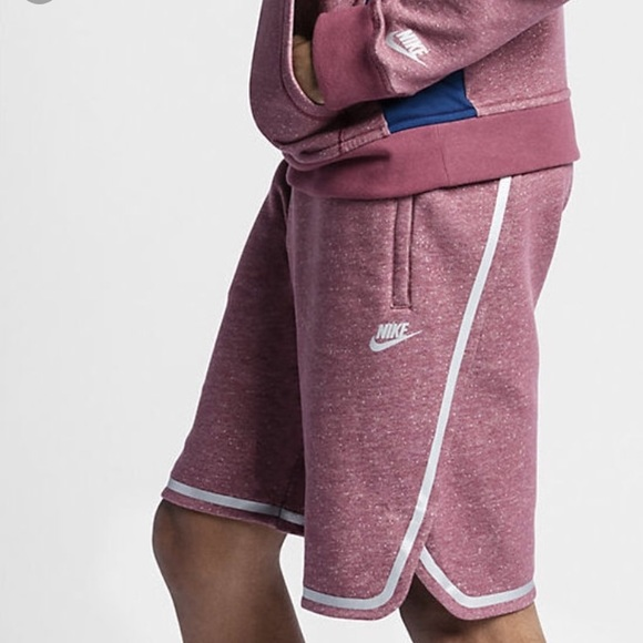 nike fleece basketball shorts