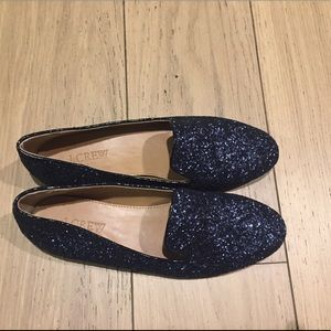 NWB J.Crew sparkly loafers