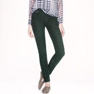 army / hunter green corduroy straight jeans UO