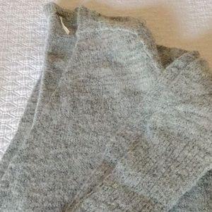 Free People long grey duster sweater