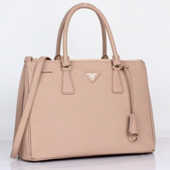9713a05e12b1 Prada Saffiano Double Zip Handbag