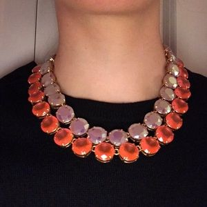 J. Crew double strand statement necklace