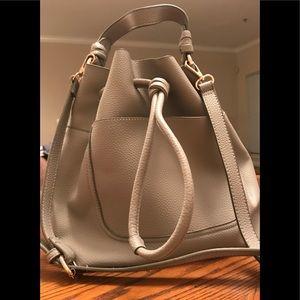 Zara Drawstring Bucket Bag